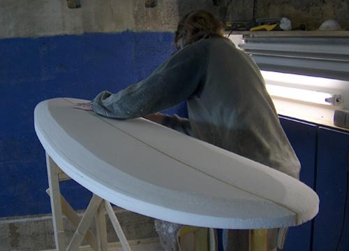 Shaper comment combien 1 re partie - Decorer sa planche de surf ...