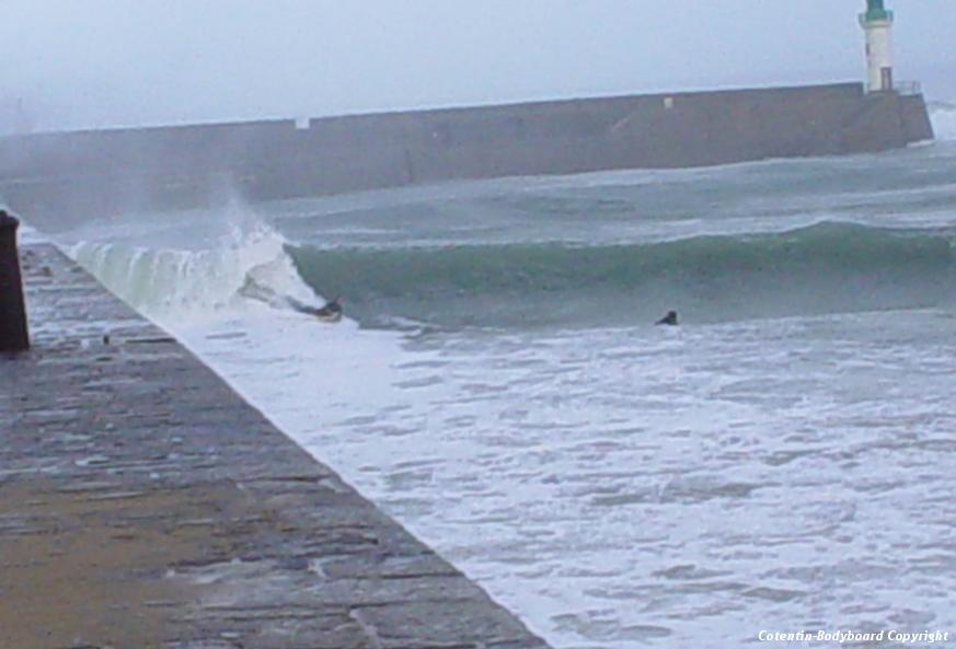Surfer en normandie